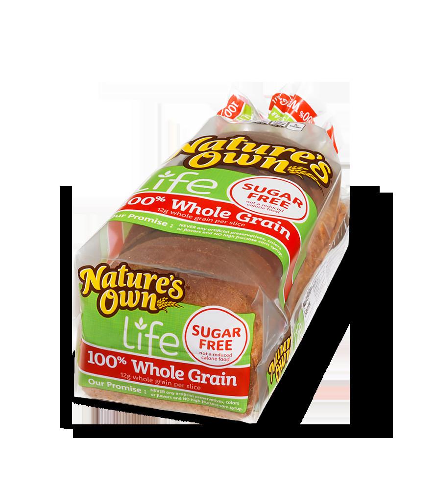 100% Whole Grain Bread  Whole Grain Sugar Free