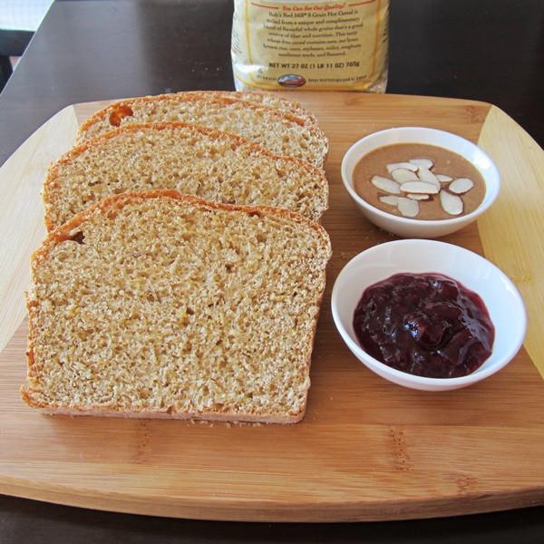 100% Whole Grain Bread  Homemade Whole Grain Bread Recipe Go Dairy Free