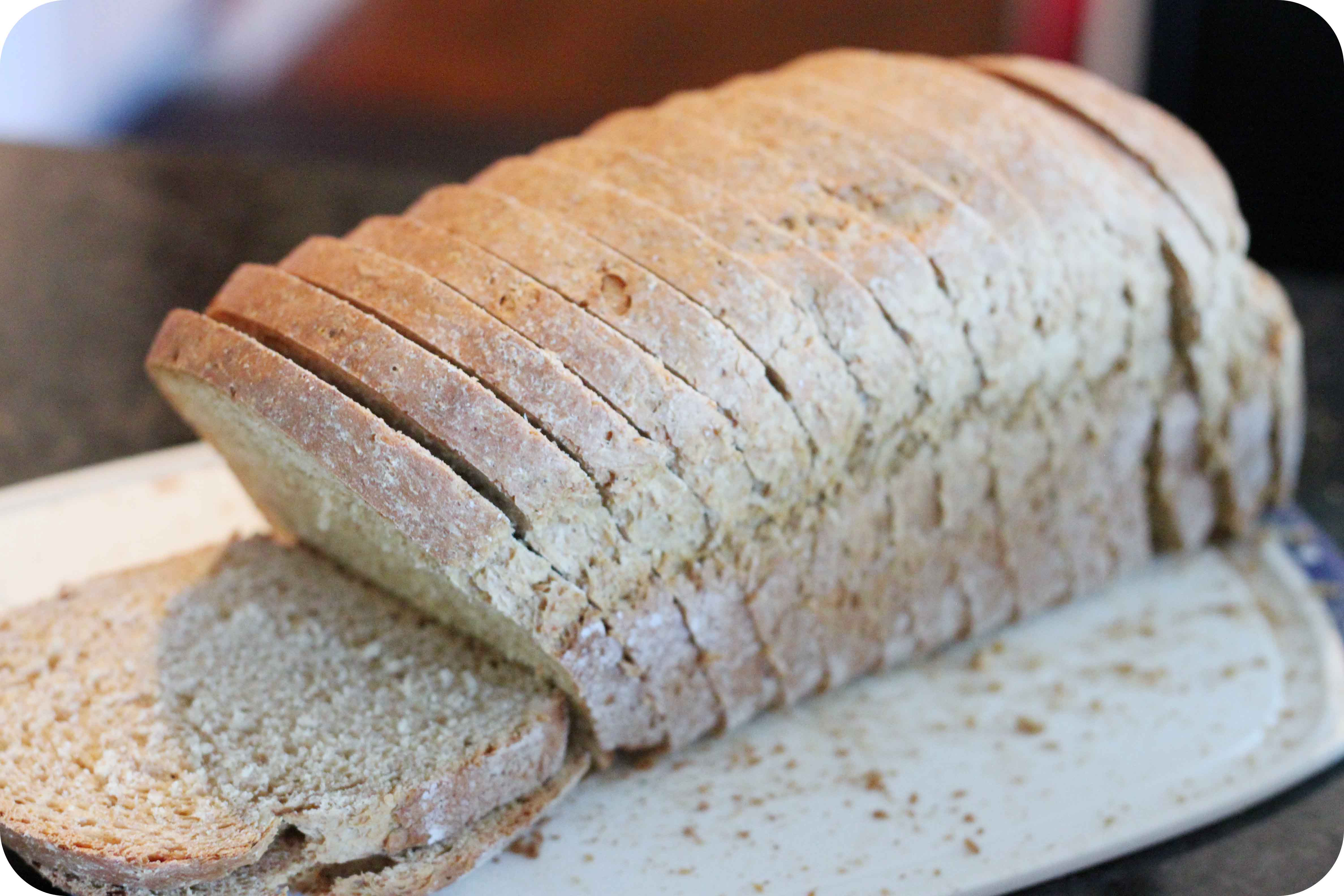 100% Whole Grain Bread  Eat better and save money by making your own Whole
