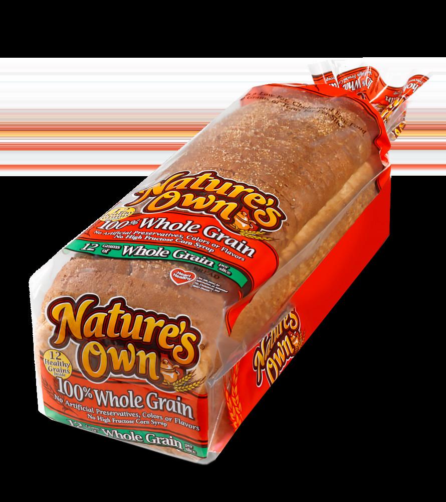 100% Whole Grain Bread  Whole Grain