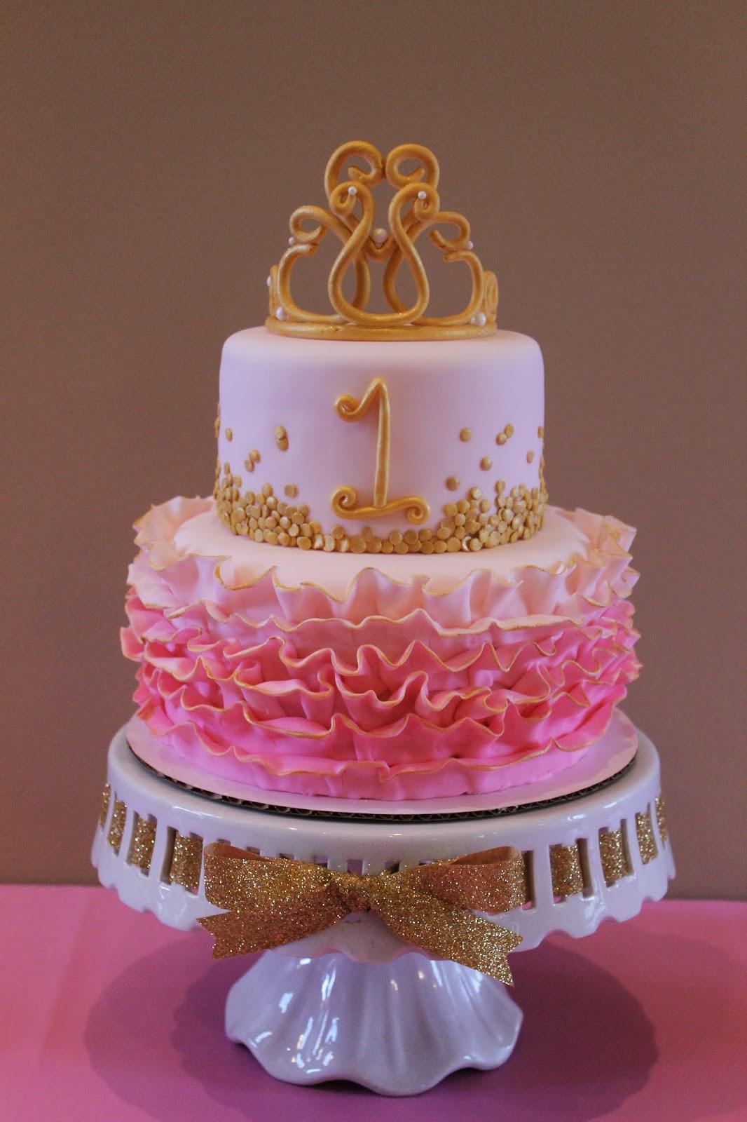 1St Birthday Cake  Richly Blessed Emery s 1st Birthday Party