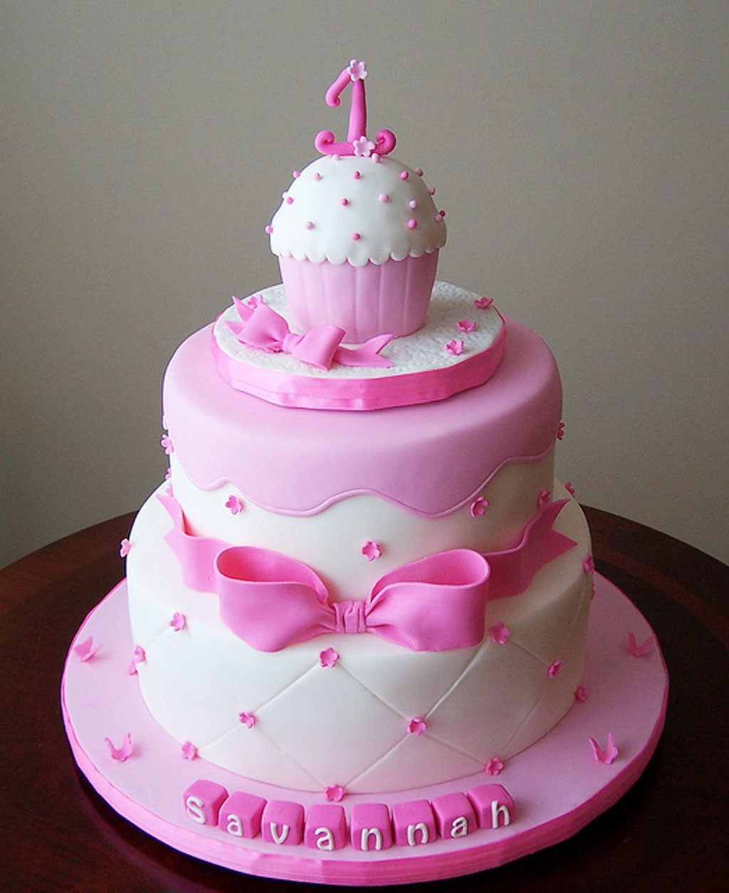 1St Birthday Cake  Birthday cakes for girls images pictures wallpapers and