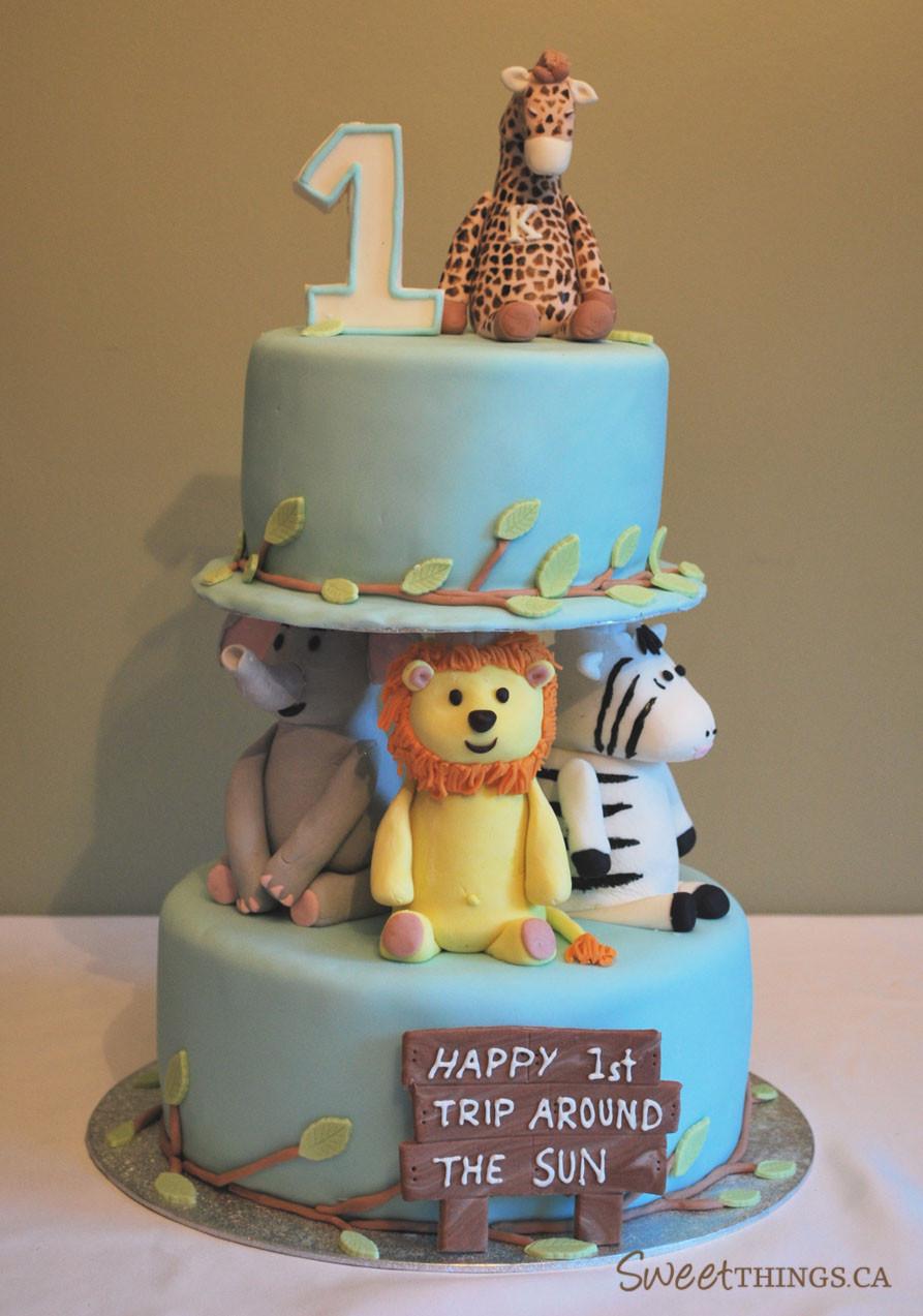 1St Birthday Cake  SweetThings 1st Birthday Cake