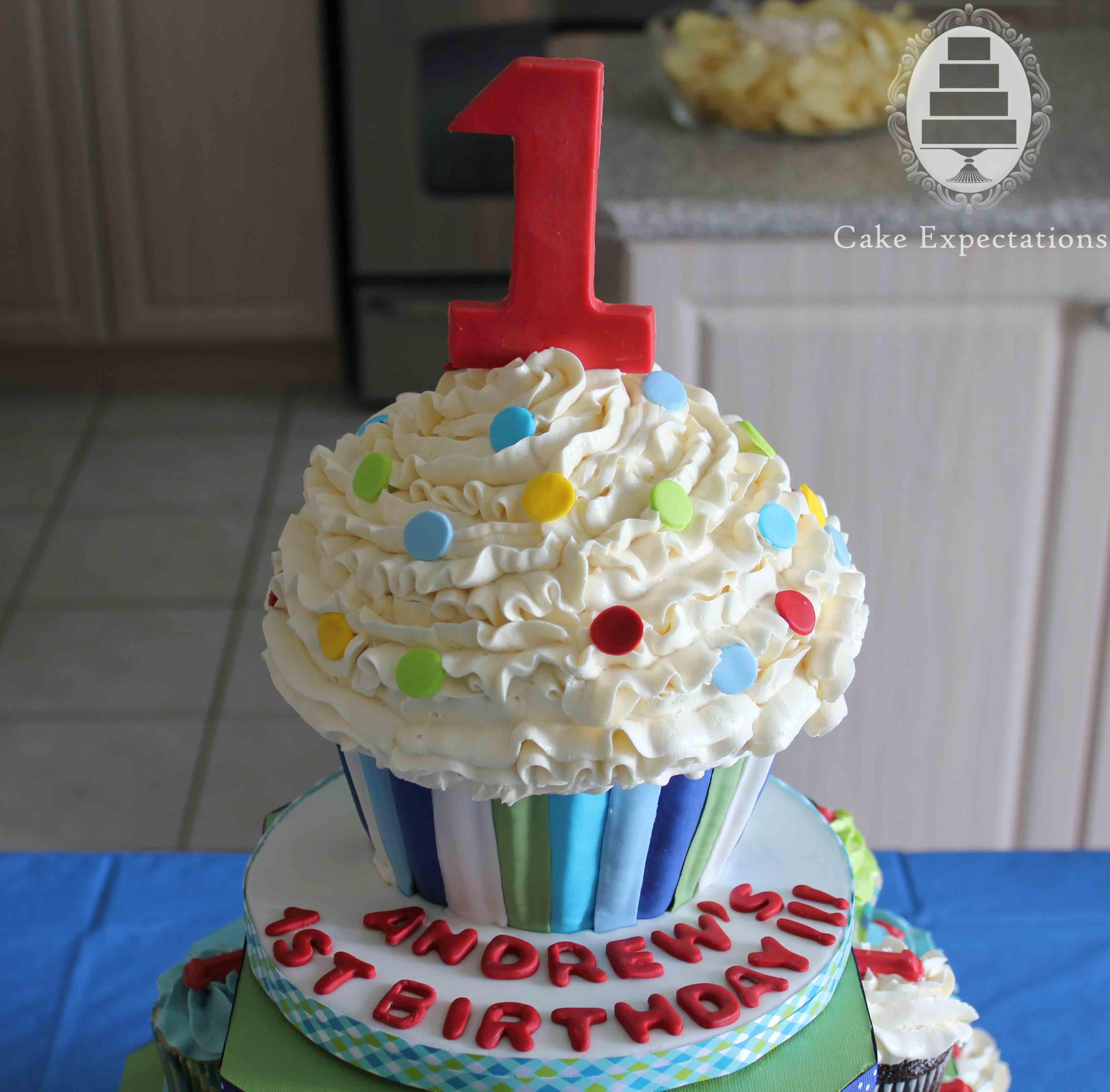 1St Birthday Cake  Cake Expectations – Children's Cakes