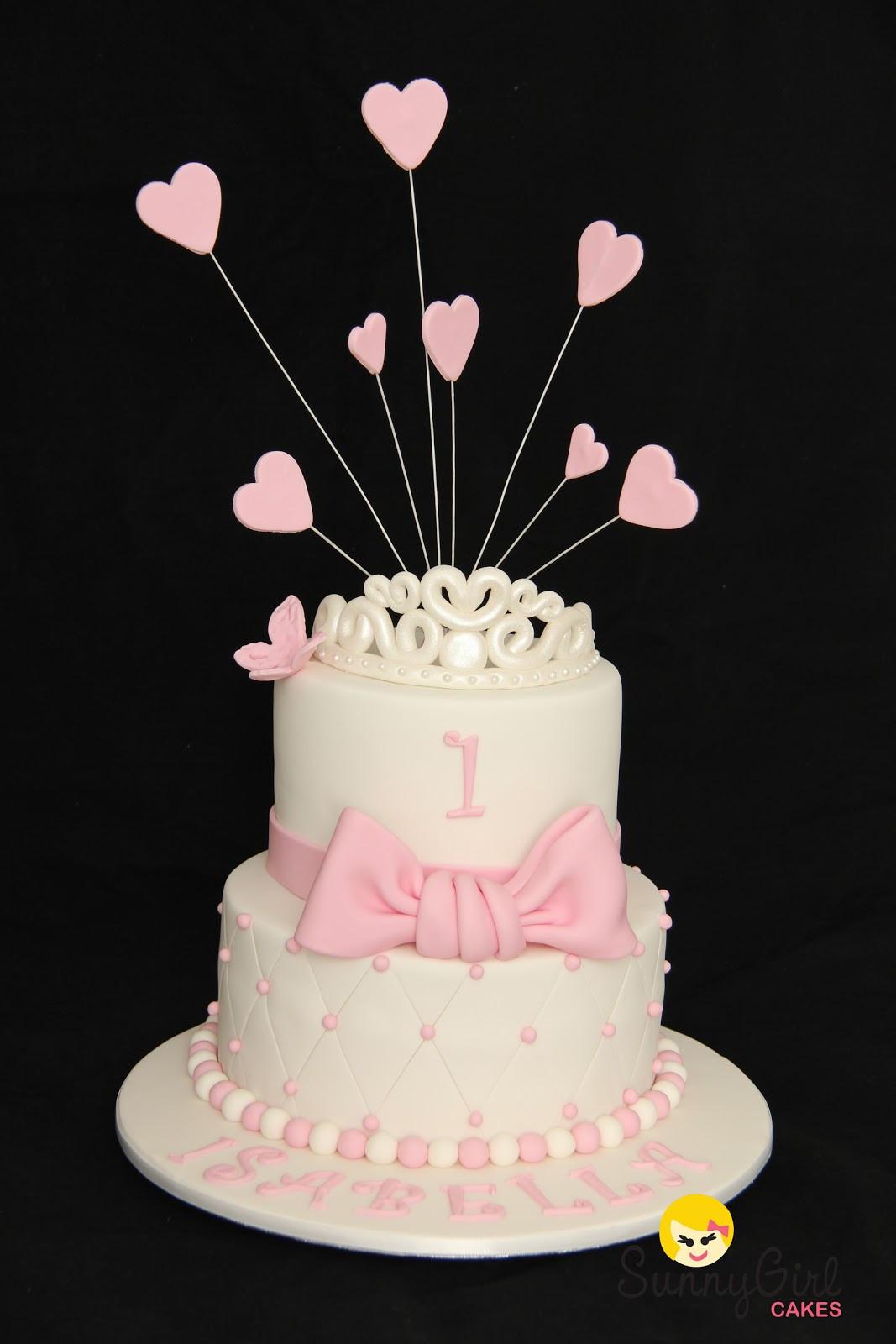 1St Birthday Cake  Princess Isabella First Birthday