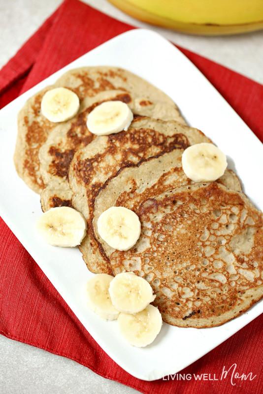 2 Ingredient Banana Pancakes  2 Ingre nt Banana Pancakes Gluten Free Dairy Free Paleo