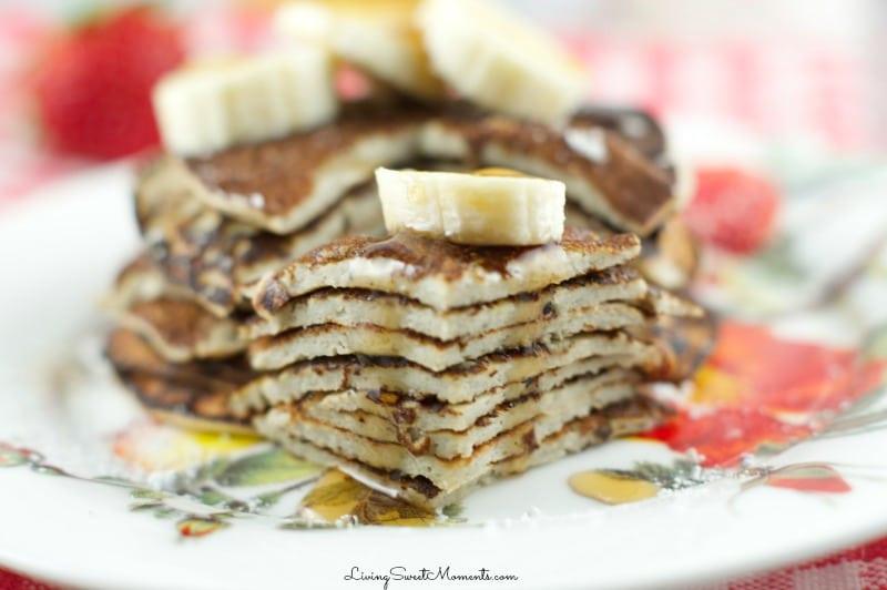 2 Ingredient Banana Pancakes  2 Ingre nt Banana Pancakes Recipe Living Sweet Moments
