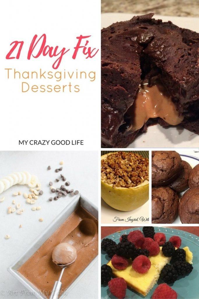 21 Day Fix Dessert Recipes  21 Day Fix Thanksgiving Desserts