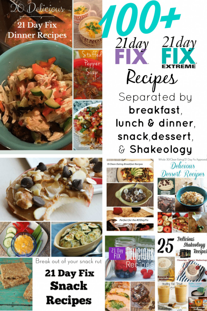 21 Day Fix Dessert Recipes  100 21 Day Fix Recipes