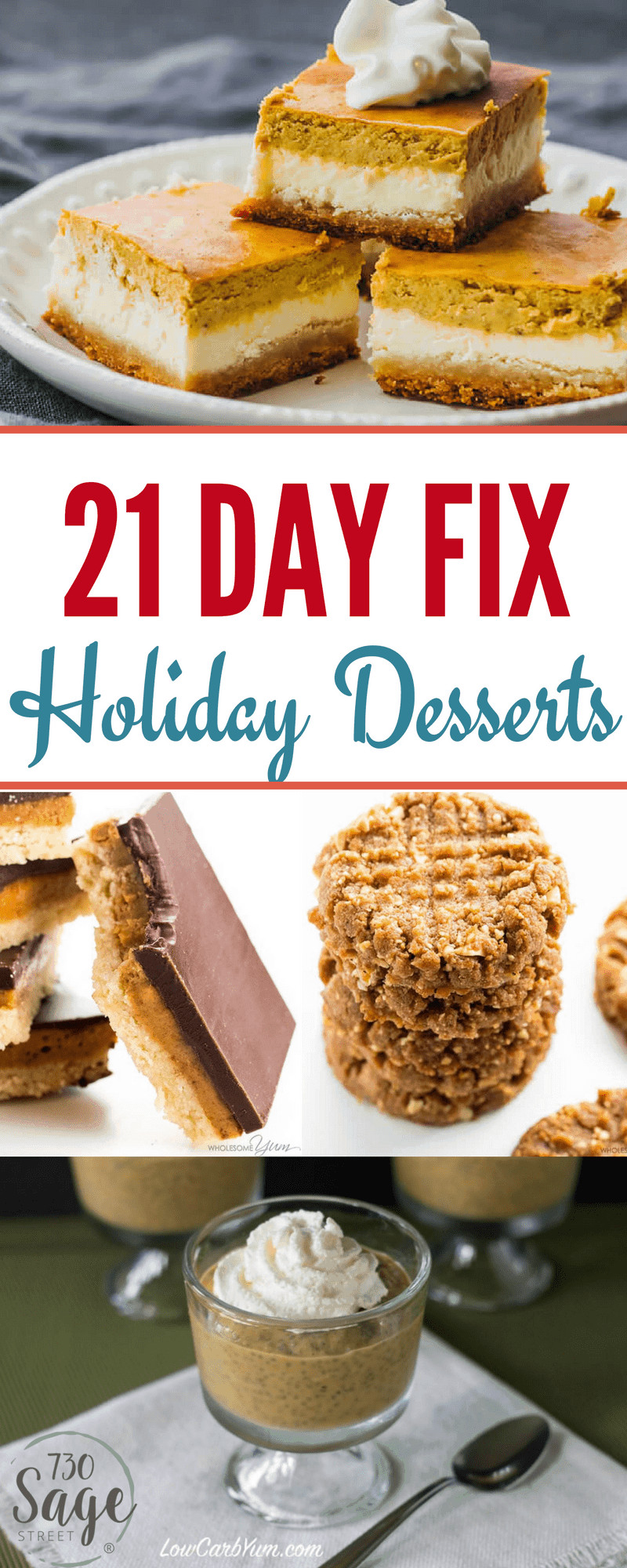 21 Day Fix Dessert Recipes  21 Day Fix Holiday Desserts Delicious & Guilt Free 730