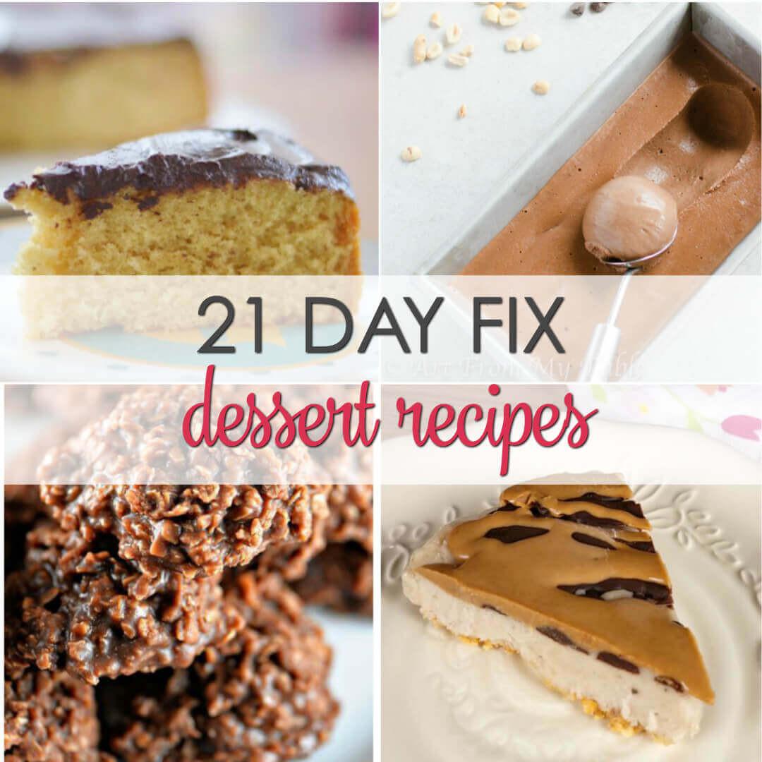 21 Day Fix Dessert Recipes  21 Day Fix Desserts