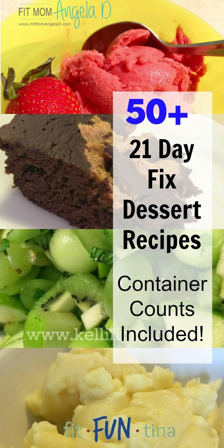 21 Day Fix Dessert Recipes  50 21 Day Fix Desserts Fit Fun Tina