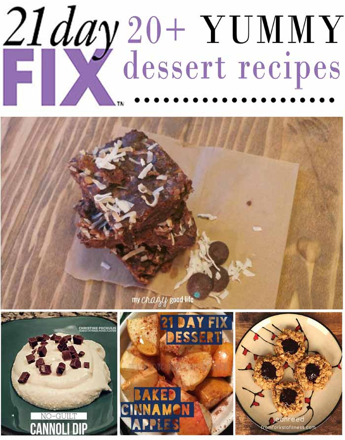 21 Day Fix Dessert Recipes  Clean Eating 21 Day Fix Dessert Recipes