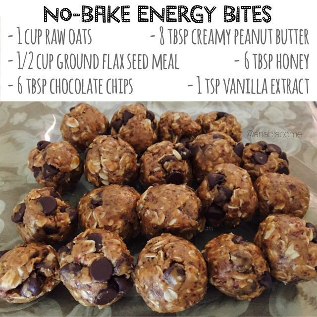 21 Day Fix Dessert Recipes  No bake energy bites 21 day fix approved Healthy dessert