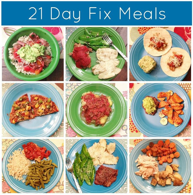 21 Day Fix Dinner Idea  21 Day Fix Meals clean eating meal ideas