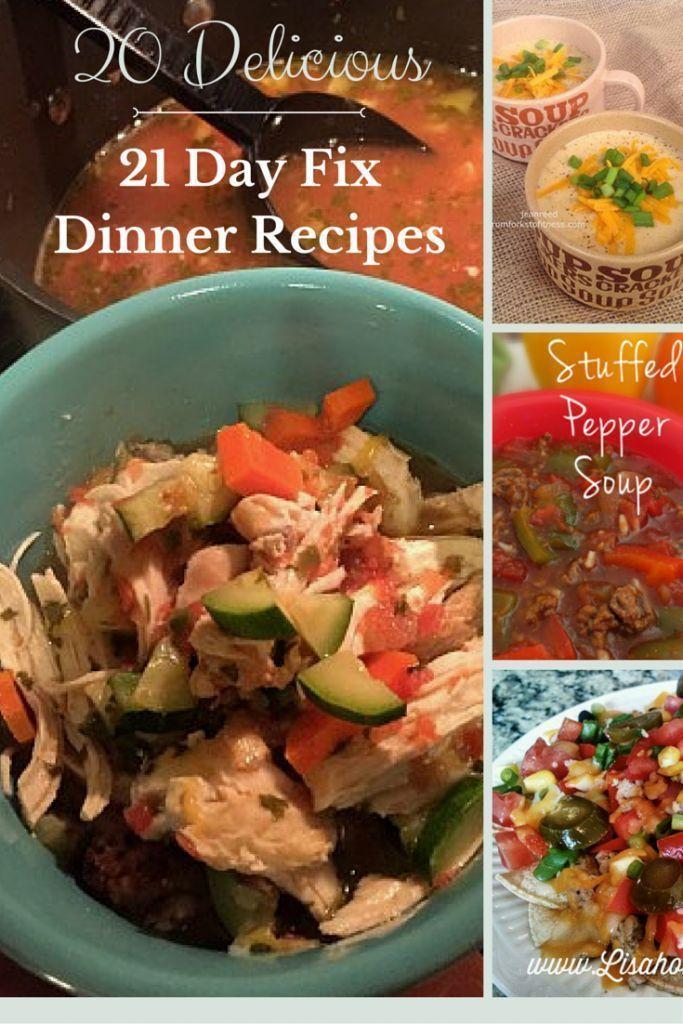 21 Day Fix Dinner Idea  21 Day Fix Dinner Recipes