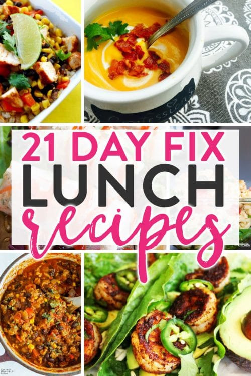 21 Day Fix Dinner Idea  21 Day Fix Lunch Recipes