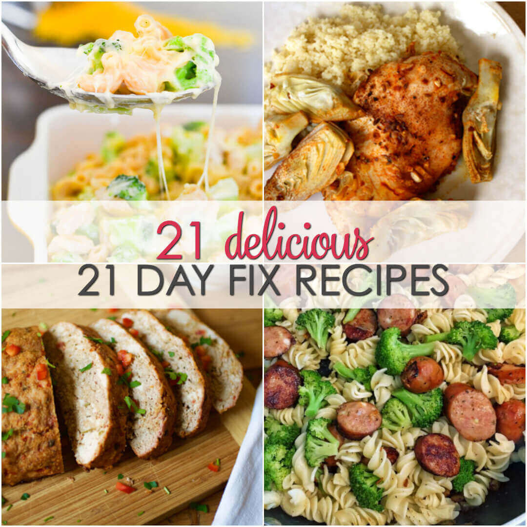 21 Day Fix Dinner Idea  21 Day Fix Meals that are Full of Flavor