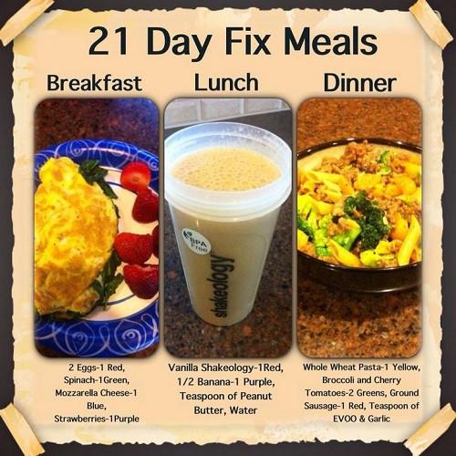 21 Day Fix Dinner Idea  21 Day Fix Meal Prep Ideas