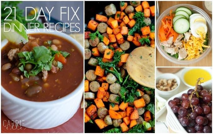21 Day Fix Dinner Idea  21 Day Fix Pumpkin Recipes Carrie Elle