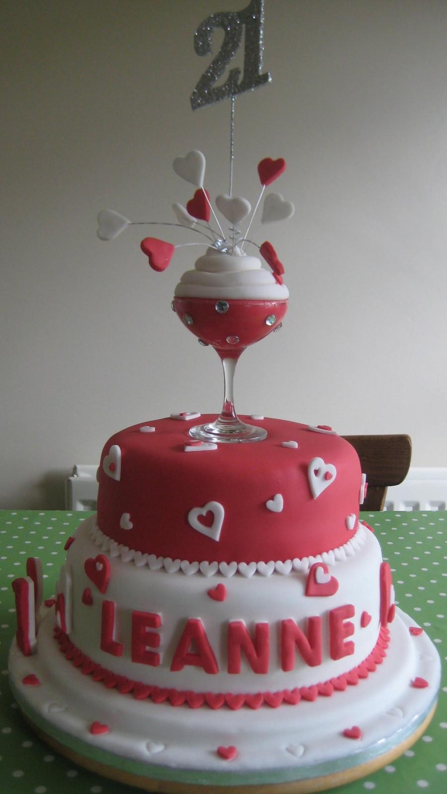 21St Birthday Cake  Champagne 21St Birthday Cake CakeCentral