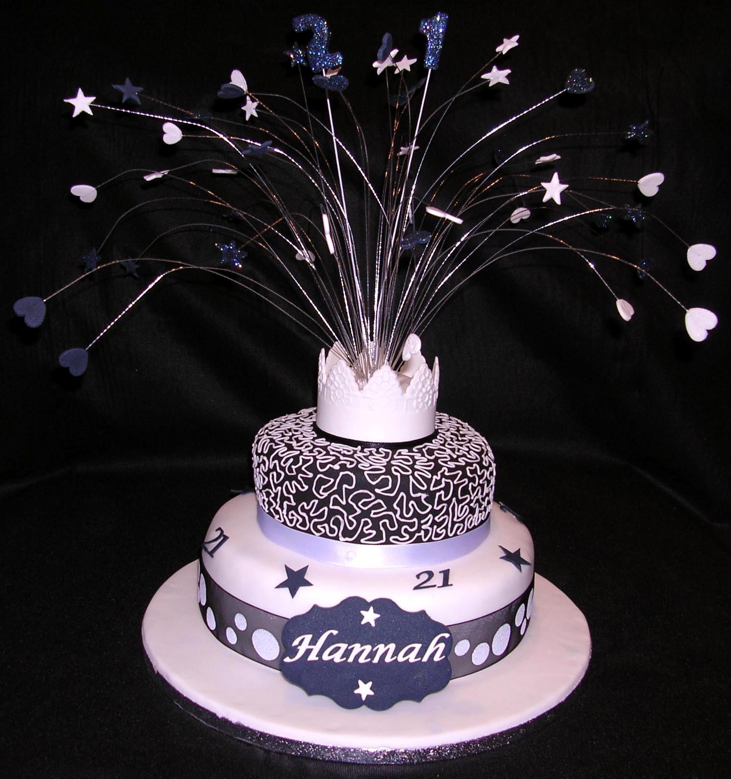 21St Birthday Cake  Birthday Cakes