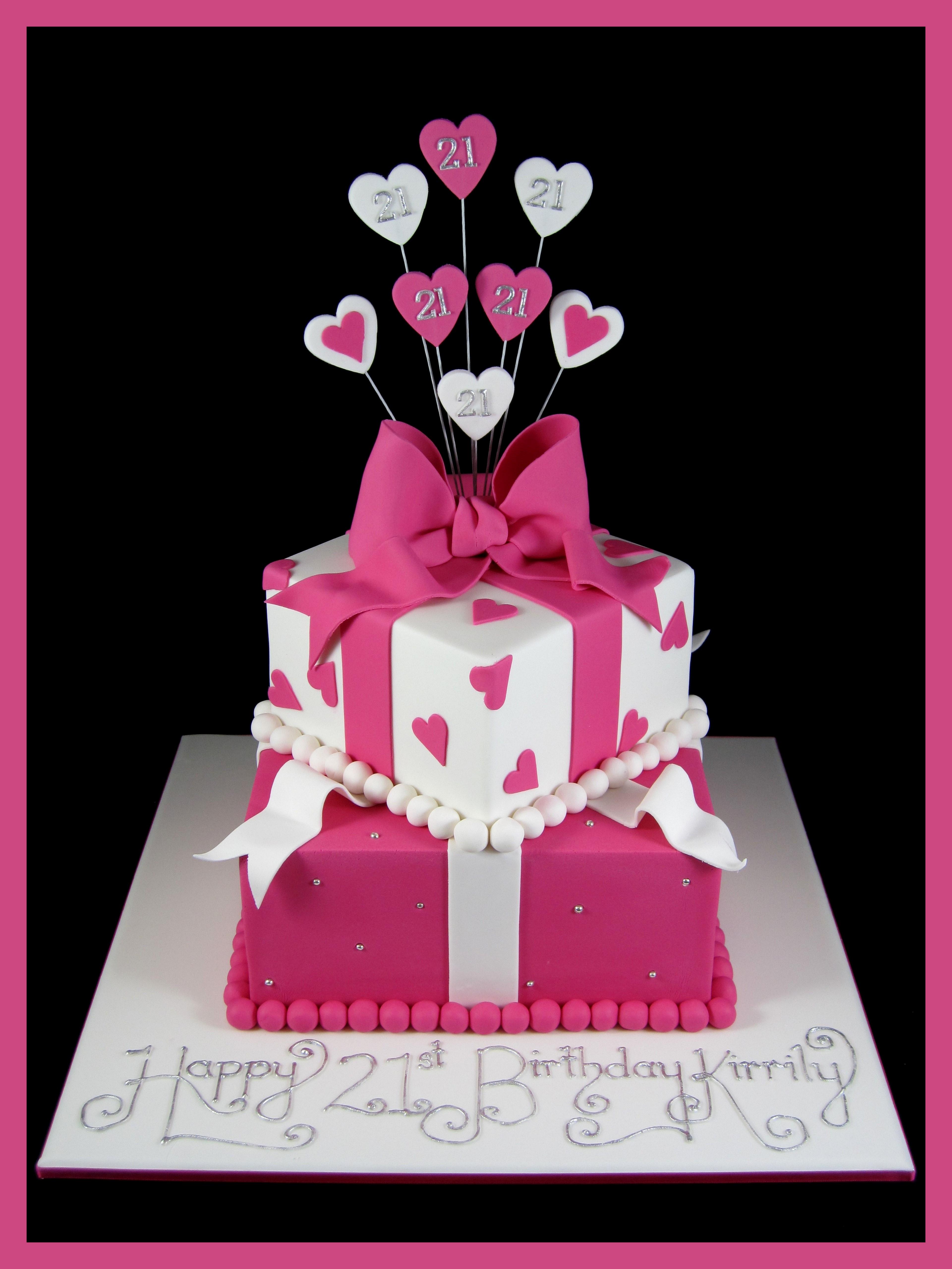 21St Birthday Cake  21st birthday for girls