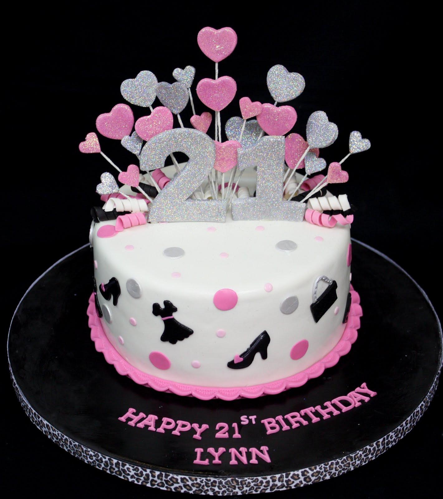 21St Birthday Cake  plete Deelite Fashion Glitter 21st Birthday Cake