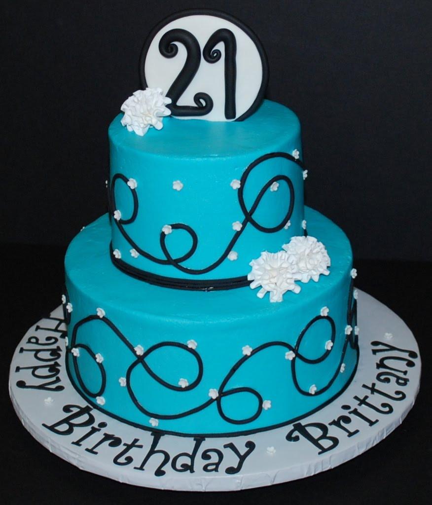 21St Birthday Cake  21st Birthday Cakes – Decoration Ideas