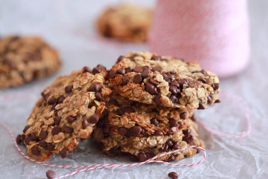 3 Ingredient Chocolate Chip Cookies  3 Ingre nt Oatmeal Chocolate Chip Cookies Gemma's