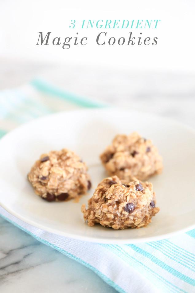 3 Ingredient Chocolate Chip Cookies  3 Ingre nt Magic Cookies Rabbit Food For My Bunny Teeth