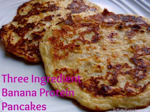 3 Ingredient Protein Pancakes  Three Ingre nt Banana Protein Pancakes