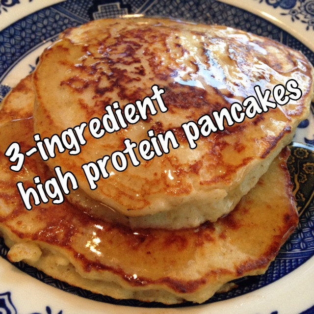 3 Ingredient Protein Pancakes  Rita s Recipes 3 Ingre nt High Protein Pancakes