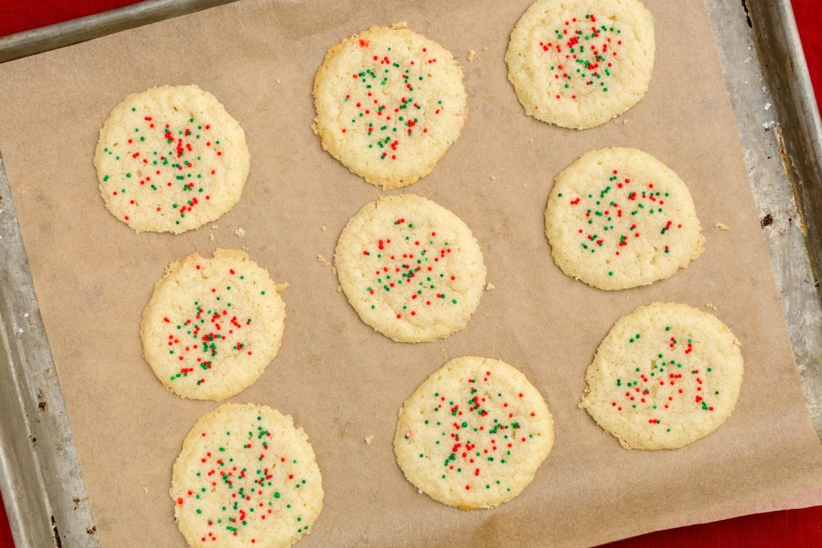 3 Ingredient Sugar Cookies  cookie recipes easy