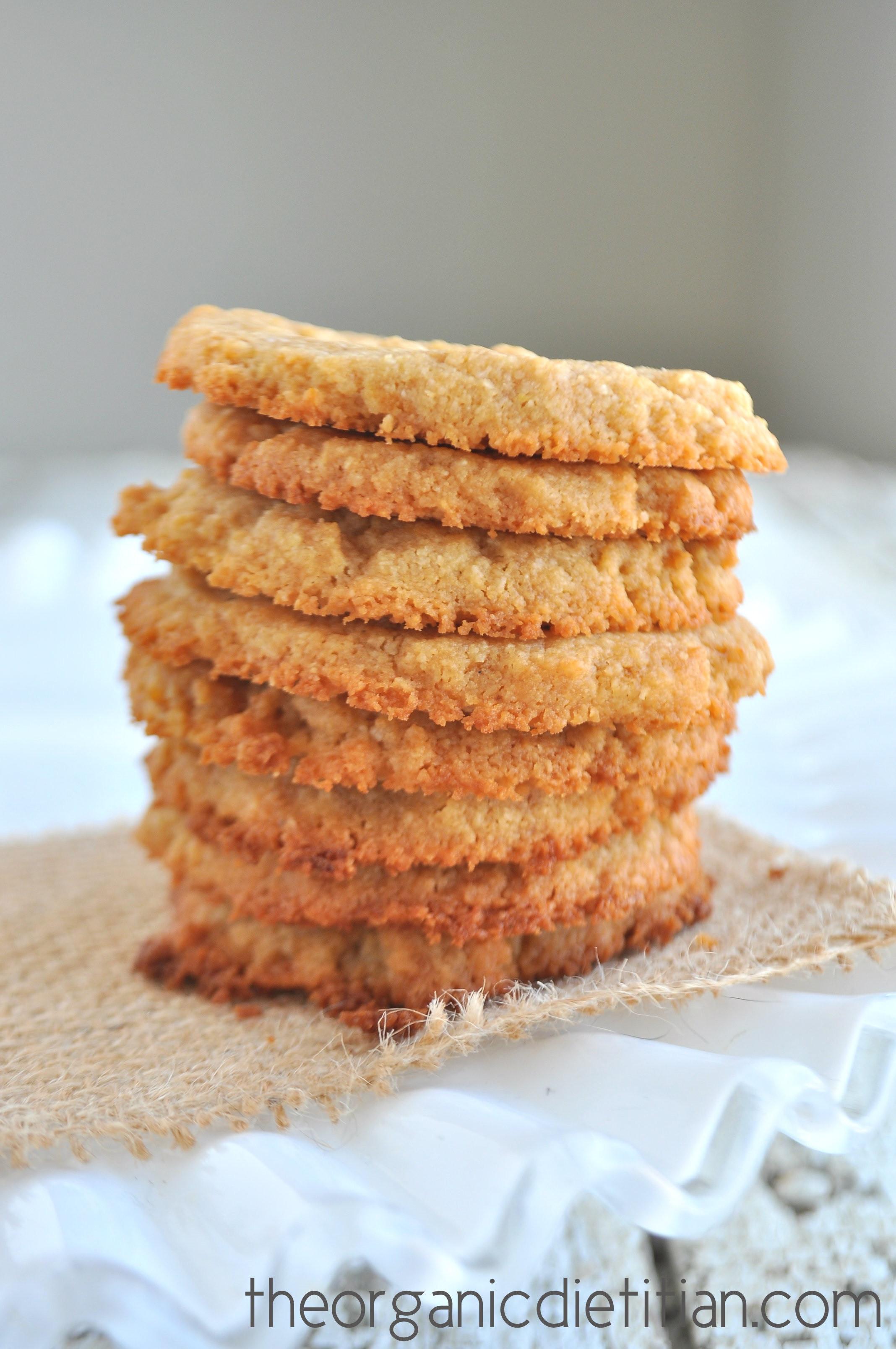 3 Ingredient Sugar Cookies  3 Ingre nt Sugar Cookies The Organic Dietitian
