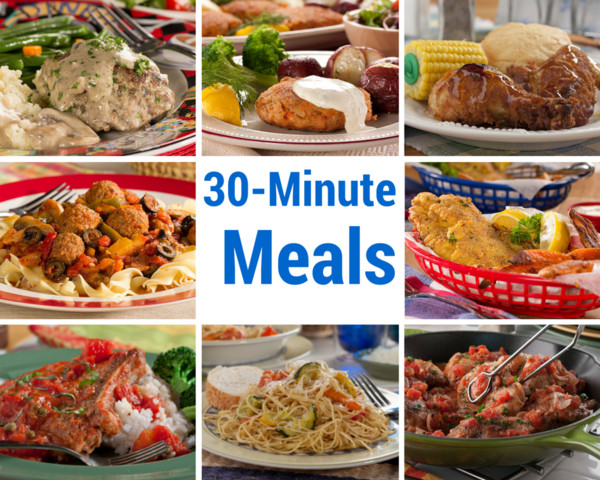 30 Minute Dinners  30 Recipes for 30 Minute Meals
