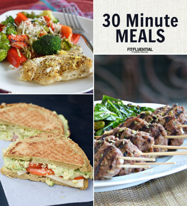 30 Minute Dinners  Dinner in Under 30 Minutes FitFluential