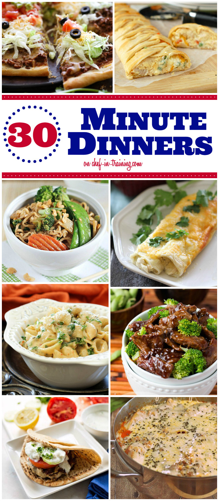 30 Minute Dinners  Top 28 30 Minute Dinner Recipes pineapple chicken 30