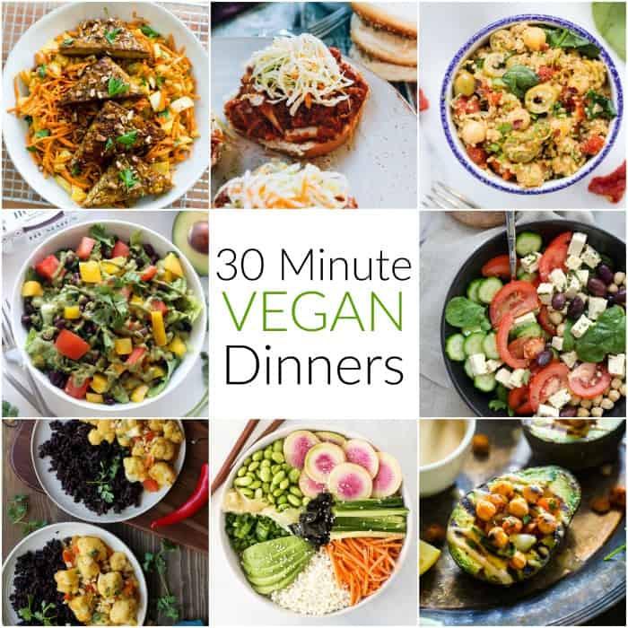 30 Minute Dinners  30 Minute Vegan Dinners