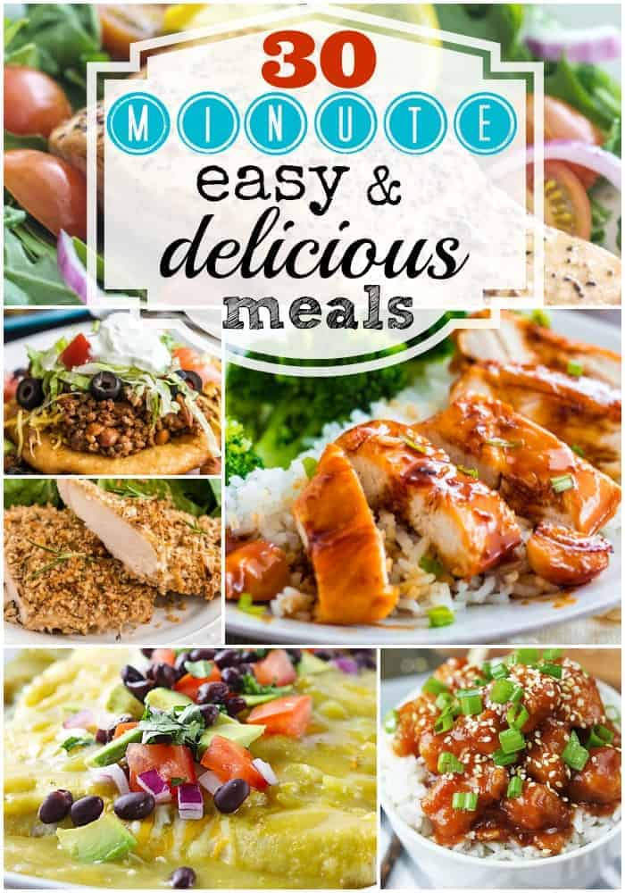 30 Minute Dinners  30 Minute Easy & Delicious Meals