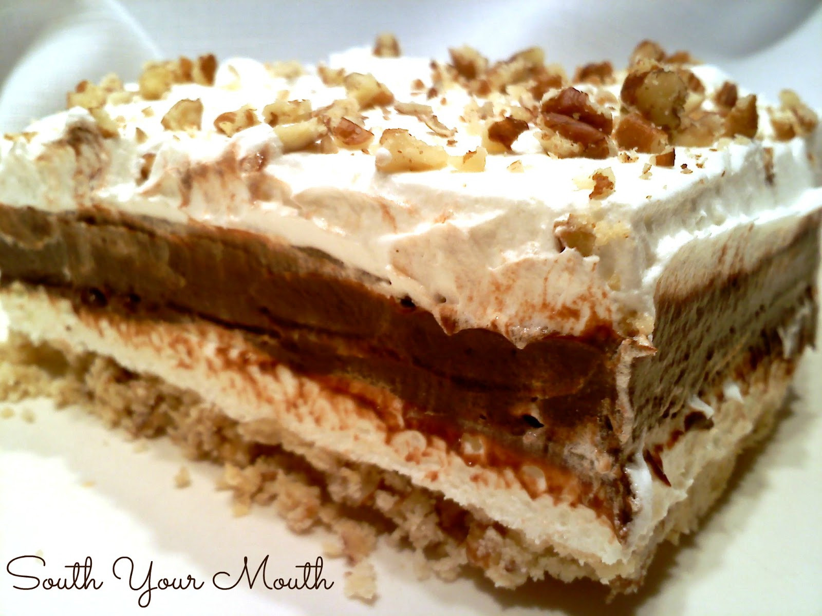4 Layer Chocolate Dessert  South Your Mouth Chocolate Delight
