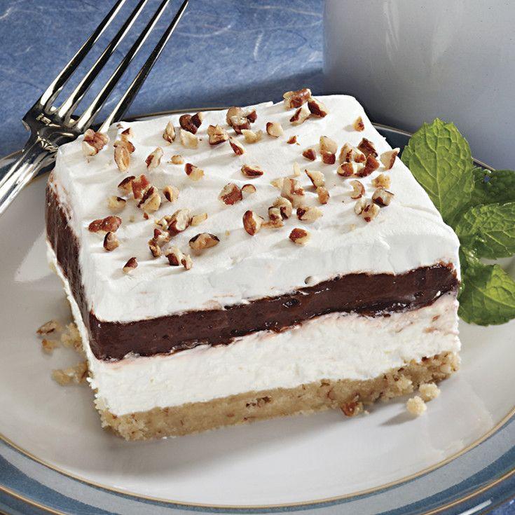 4 Layer Chocolate Dessert  4 Layer Dessert