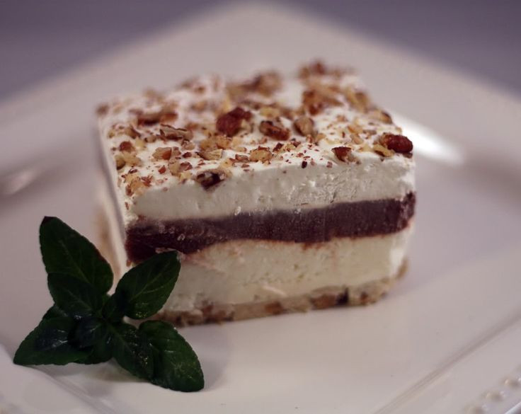 4 Layer Chocolate Dessert  25 trending Four Layer Delight ideas on Pinterest