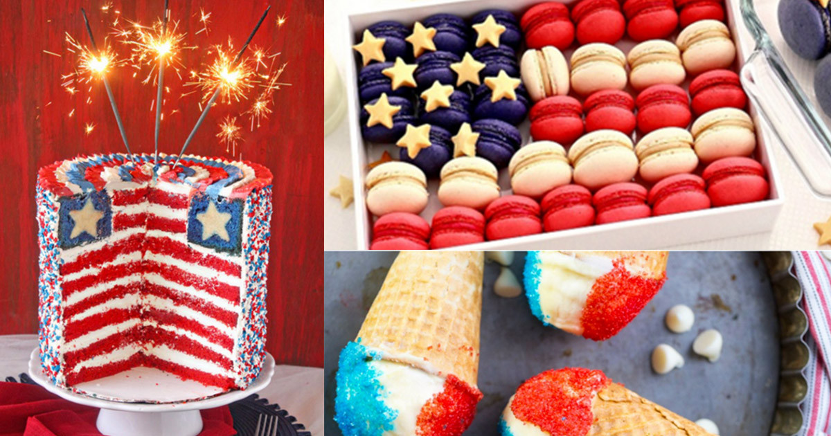 4 Of July Dessert  4th of July Desserts and Patriotic Recipe Ideas