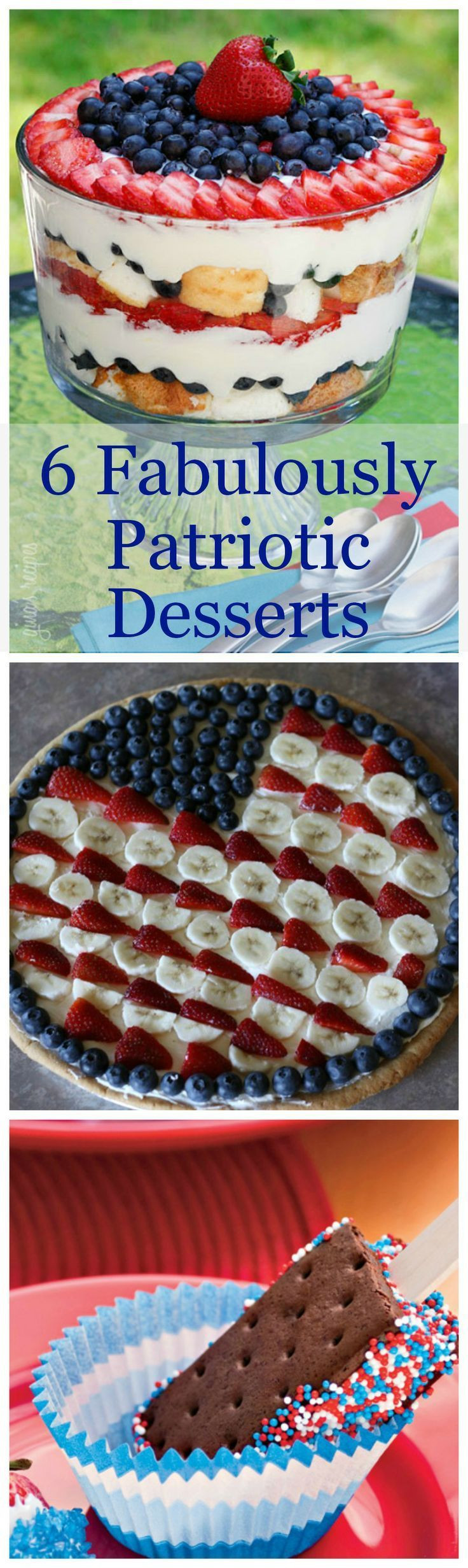 4 Of July Dessert  10 best images about 4th of July on Pinterest