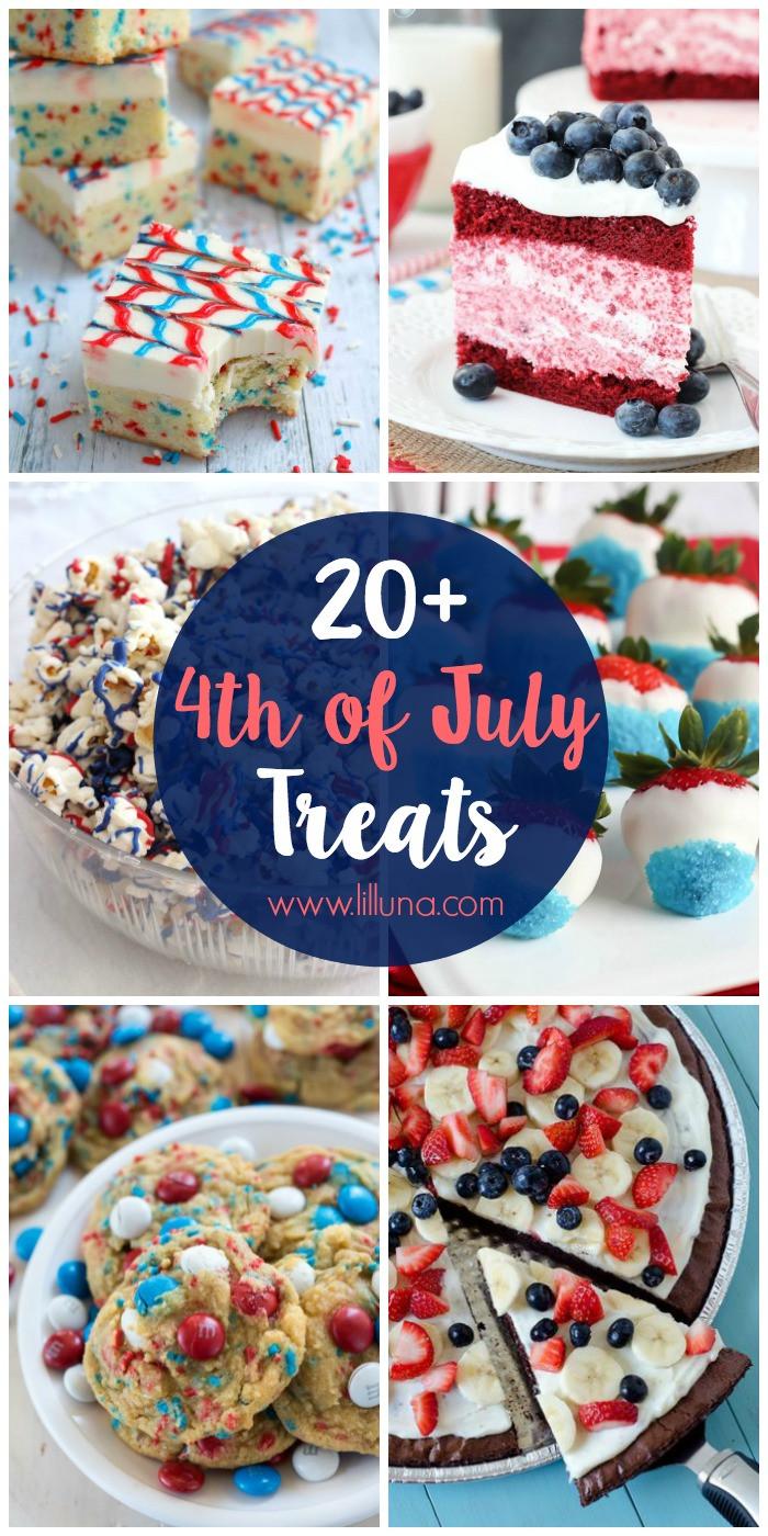 4 Of July Dessert  20 4th of July Desserts Lil Luna