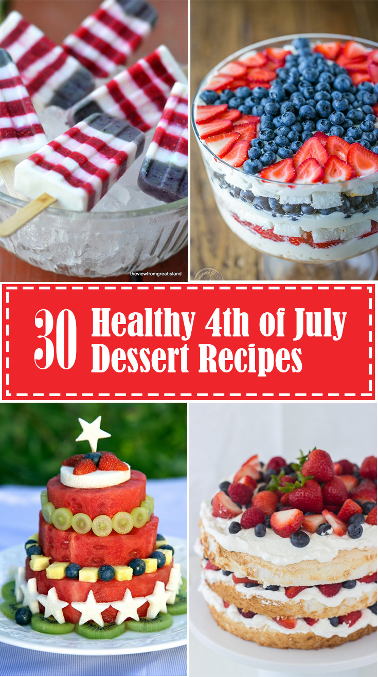 4 Of July Dessert  Healthy 4th of July Desserts Eating Richly