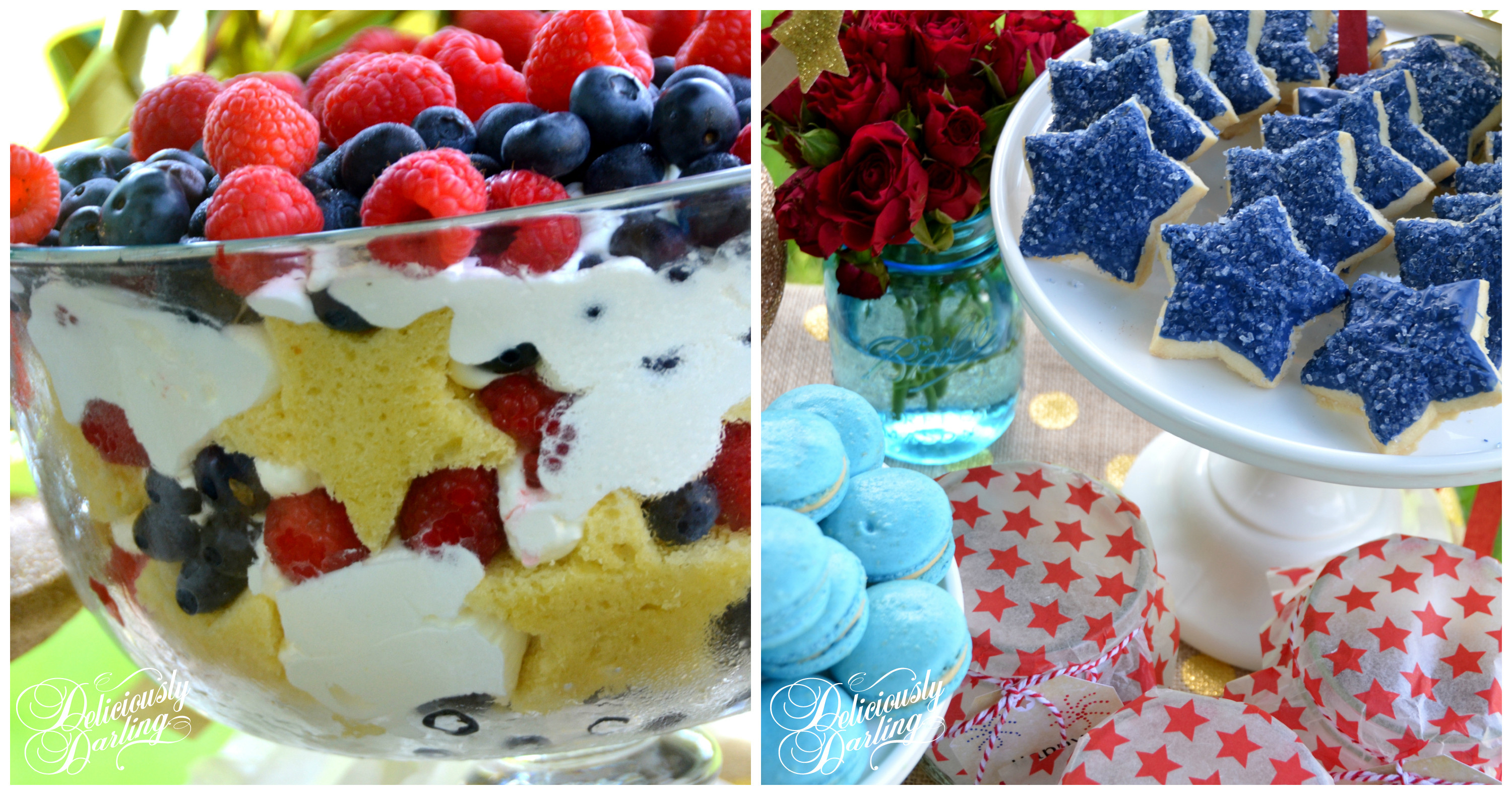4 Of July Dessert  4th of July Dessert Table Let Freedom Ring Deliciously