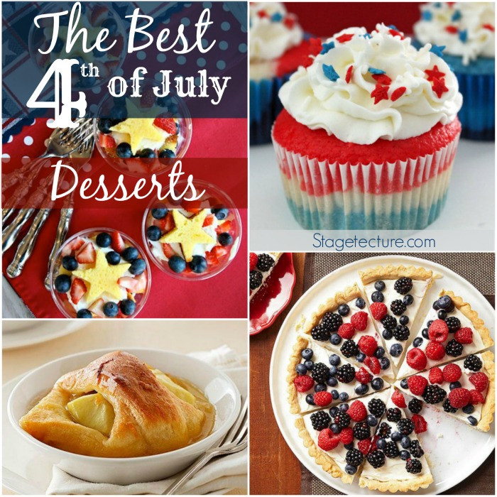 4 Of July Dessert  The Best 4th of July Desserts this Summer