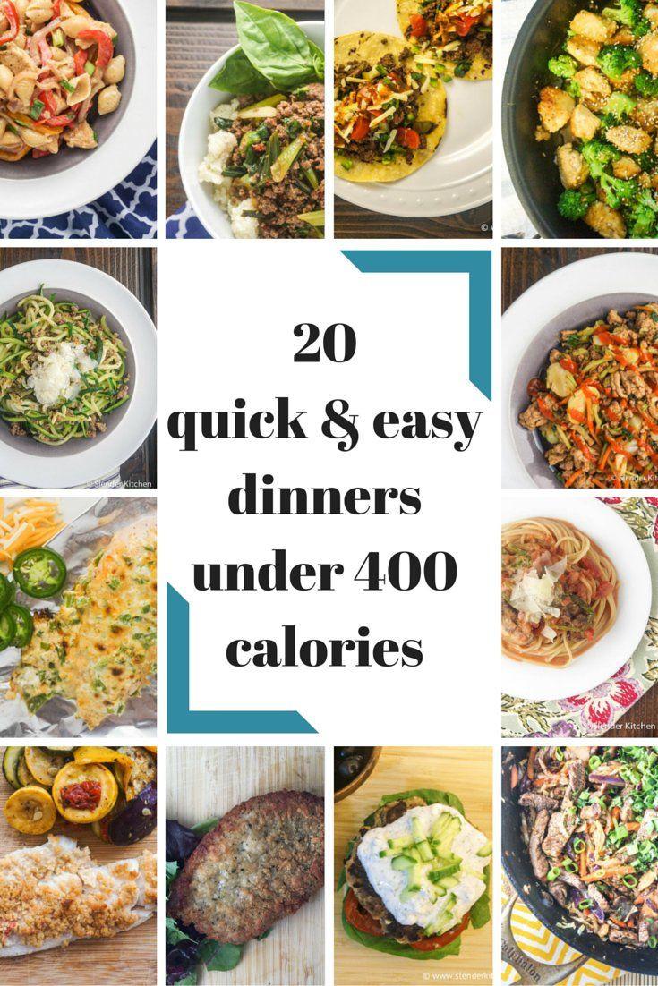 400 Calorie Dinners  1000 ideas about 400 Calorie Meals on Pinterest
